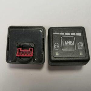 Кнопка переключения Ланди (впрыск) красн.