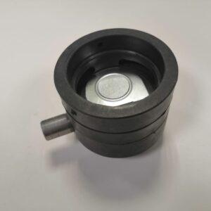 Смеситель D62мм с защит. клап. (пласт)